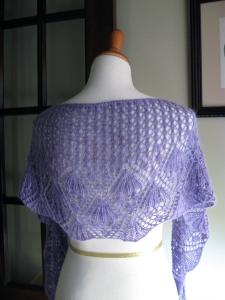 Wisteria shawl (2)